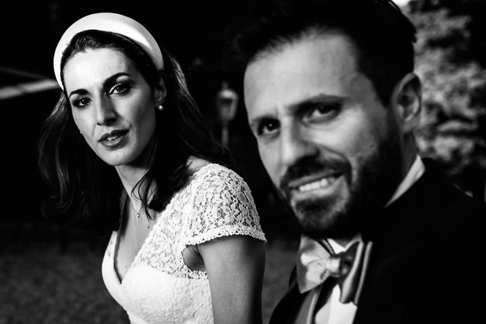 bellissima coppia di sposi