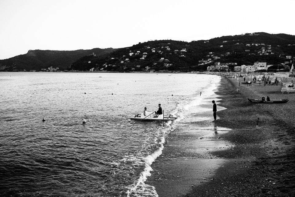 matrimonio sulla spiaggia di spotorno