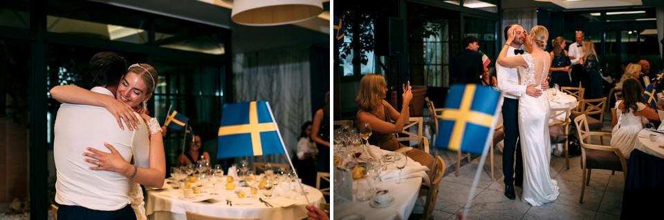 ricevimento di matrimonio svedese ad alassio