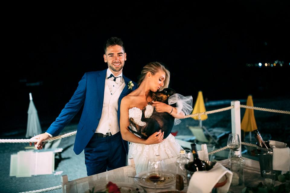 festa di matrimonio ai sirio beach di spotorno